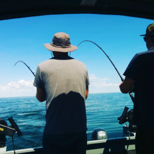 Guided fishing charters