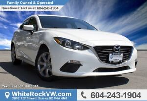 2014 Mazda Mazda3 GX-SKY LOCAL VEHICLE, MULTI MEDIA DISPLAY &...