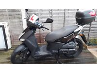 Kymco Agility City 125cc, Low Mileage