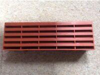 Timloc Plastic Air Bricks Vent - Terracotta x 7