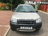 LAND ROVER FREELANDER 1.8 Kalahari Station Wagon 5dr (gold) 2003