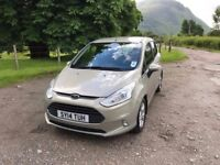 Ford B-Max 1.0L 125PS Petrol 5DR Manual, Finance Available!