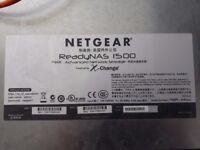Netgear ReadyNAS 1500 Network Attached Hard Drive Storage NAS 8TB SATA