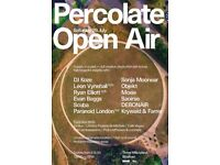 Percolate Open Air (RA pick of the week)