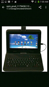 "Brand New Android 5 Proscan 9"" Tablet W/ Keyboard Case"