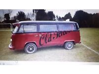 1973 vw campervan project in fair condition message for more details but please no time wasters
