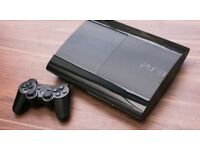 PS3 Slim 500GB with GTA V