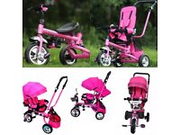 NEW !! Pink TRICYCLE