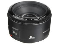 Canon 50mm Camera Lens - £45 ONLY !!