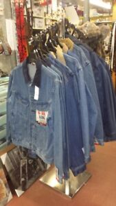 Mens Jean Jackets snap or button