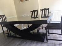 Designer dining table by Christoper Guy - sits 8-10 people