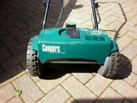 Cordless Cylinder Mower made by Coopers
