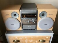 Phillips home music system.