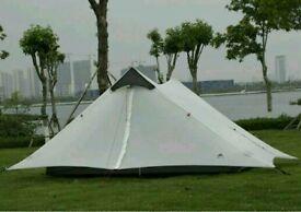 Ultralight 2 person 15d silnylon duplex tent. Just over 1kg in weight