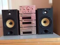 Teac hi fi B&w 601 S 2 speakers Amazing peace of kit studio sound