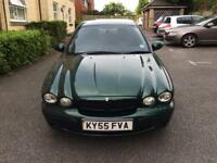 2005 (55) jaguar x type 2.0 turbo diesel. Full leather mot till next year