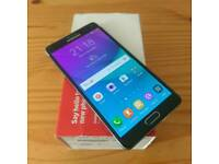 Samsung Galaxy note 4 black factory unlocked excellent condition