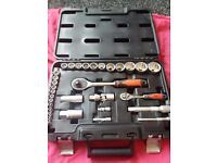 Forge Steel Mixed Socket Set 32 Pieces