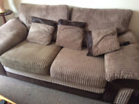 2 Seater Sofa (x2 avaliable) selling due to moving home and no longer required. Good condition