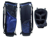 Memphis Golf Bag with Stand Black/Blue with Clubs and Balls included