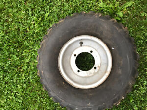 Gokart rim and tire used