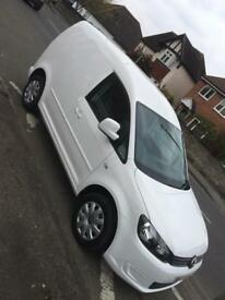 Vw caddy van 2012 new shape No Vat