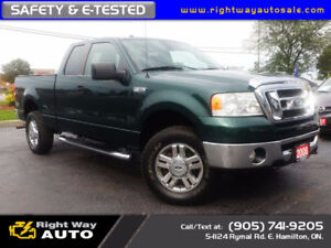 2008 Ford F-150 XLT   NAVI   4x4   186Km   SAFETY & E-TESTED