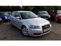 2008 AUDI A3 1.9 DIESEL 5 DOORS, FULL SERVICE HISTORY, FULL M.O.T., GOOD CONDITION