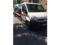 Renault master recovery truck 2008 08 reg rino remote winch working
