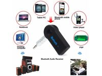 Bluetooth 3.0 Car Audio Music Receiver with Handsfree Function Mic Car Sound System Wireless