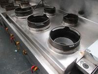 5 Burner Chinese Cooker