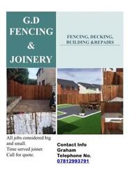 GD fencing and joinery
