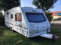 Sprite Quattro 6 berth caravan