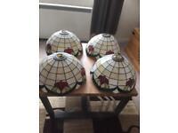 Tiffany lampshades
