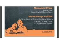 Private Tutor Greater Manchester Area