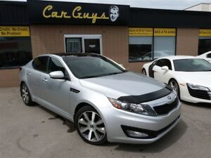 2013 Kia Optima EX Luxury w/Navi - BU Cam, Remote Start, Pano