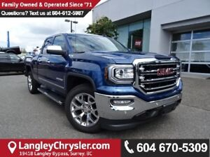 2016 GMC Sierra 1500 SLT W/NAVIGATION & LEATHER UPHOLSTERY