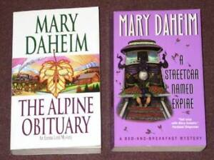 Mary Daheim Book Lot – 2 Pocket Books (USED)