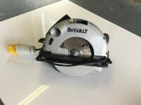 Dewalt 110 volt Saw