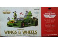 Air Show / Motoring Show Family Ticket - August Bank Holiday Weekend (DISCOUNTED PRICE)