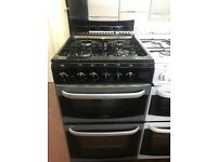 50CM SILVER/BLACK CANNON GAS COOKER TWIN CAVITY