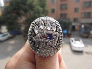 TOM BRADY 2014 NFL CHAMPIONSHIP RING.