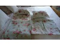 Double bed set as new