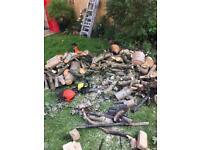 FREE Fire wood and Bricks