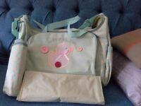 Brand New Changing Bag.
