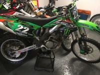 2006 kxf 250 road registered excellent condition for year