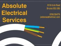 Local electrician available, fully qualified and insured