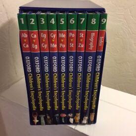 Oxford Children's Encyclopedia full boxed set of 9 volumes