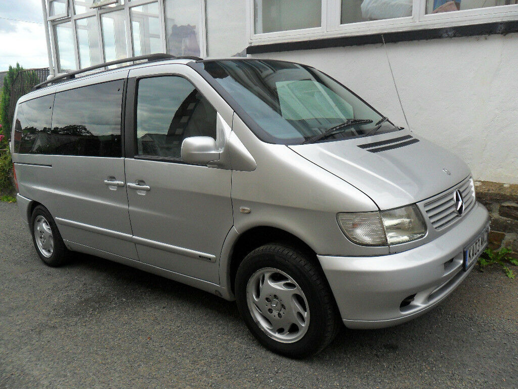 Mercedes-Benz V220 cdi Ambient, Silver, 2003, Diesel Automatic, Spacious, flexible 7 seater