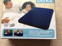 Intex inflatable double mattress